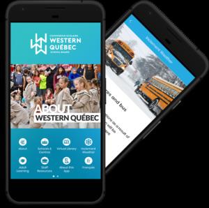 Western Québec mobile app