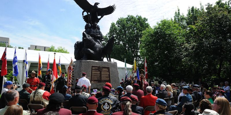 National Aboriginal Veterans Monument